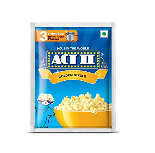 Kraft Act II Golden Sizzle 3 Minutes 40gm (Pack of 9)