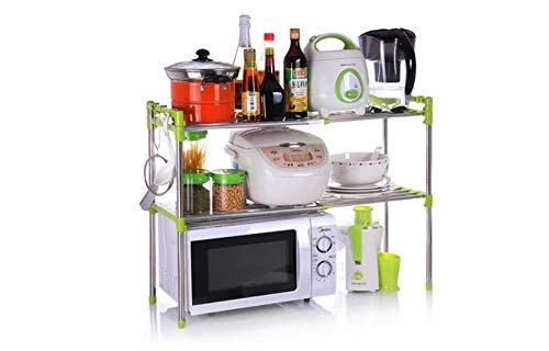 Quality Envilife Adjustable Multipurpose Microwave Oven Stand Stainless Steel Rack