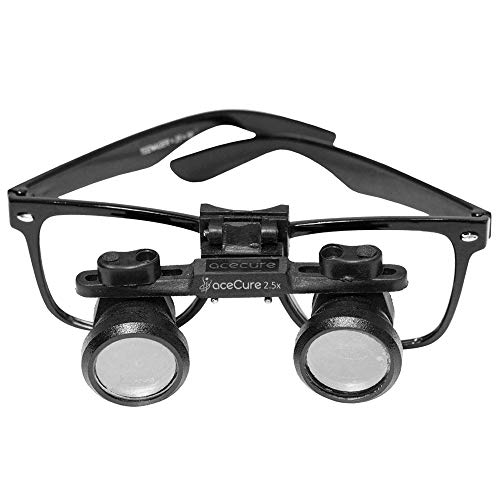 aceCure Loupe 2.5x Dental, Surgical Optical Medical Binocular Bright View