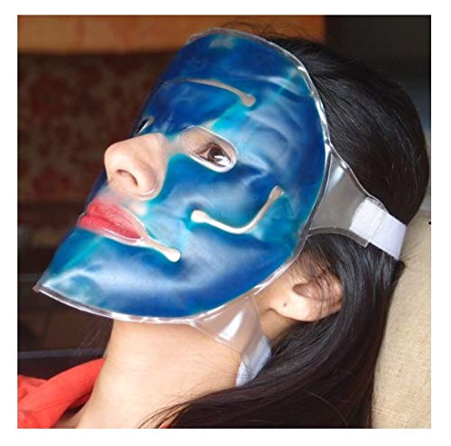 Inglis Lady Healthandyoga Anti-Fatigue Cooling Gel Face Mask with Strap-On Velcro Zq3813