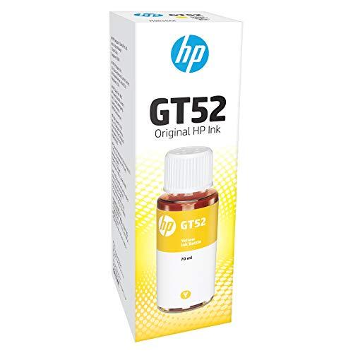 HP GT52 Ink Bottle (Yellow)