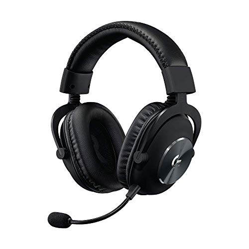 (Renewed) Logitech G Pro Gaming Headset, Lightweight with Pro-G Audio Drivers (for PC, PS4, Switch, Xbox One, VR)