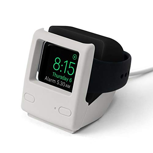 DailyObjects iSaga - Night Stand Dock Designed for Apple Watch - Black
