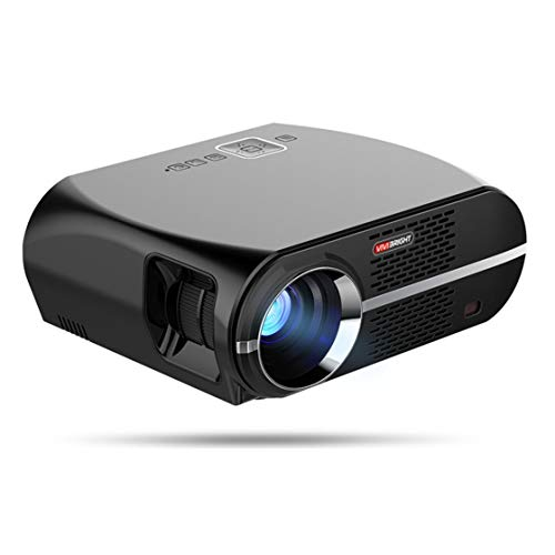 XElectron Full HD GP100UP Android 6.0, 4500 Lumens,150', LED LCD 1080P Portable Multimedia Home Theater Smart Projector for Movie, TVs, Laptops with One Year Onsite Warranty