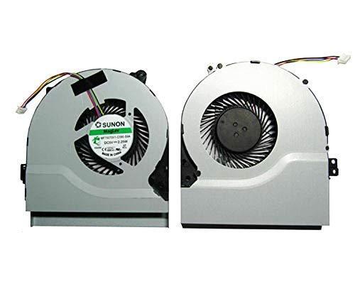Generic 4-Wire CPU Fan for Asus X550 X550V X550C X550VC X450 X450CA X450V X450C X550 X550V X550C X550VC A450C K552V A550V F550C F550