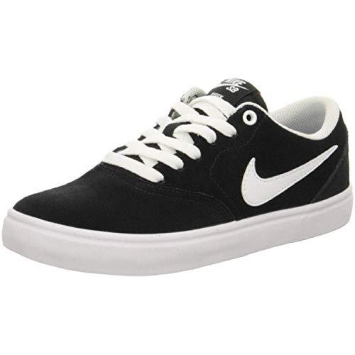 Nike Women's WMNS SB Check Solar Black/White Running Shoe (BQ3240-001)