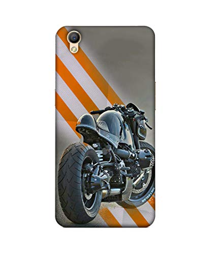 S SMARTY Beautiful Racing Bike Printed Hard Case Mobile Back Cover for Oppo A37