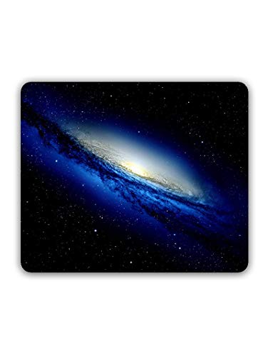 Madanyu Designer Mousepad Non-Slip Rubber Base for Gamers - HD Print - Space Galaxy Art