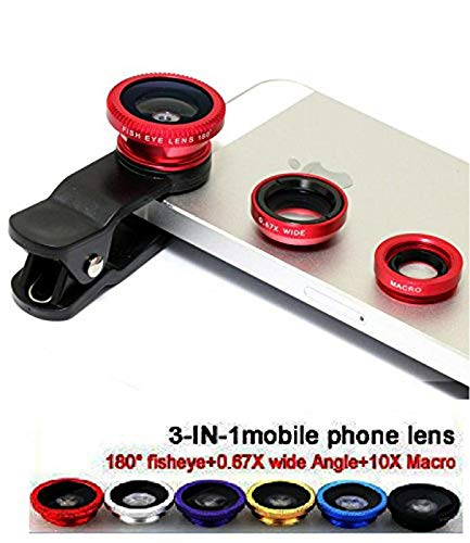 RIYA Products CLIP LENS/3 IN 1 PHOTO LENS/CAMERA LENS FOR Smartphones Model 161070