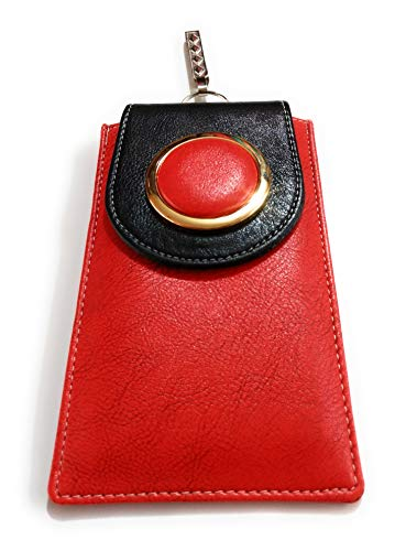 Jewels_Kafe Latest Design Trendy Red Mobile Purse\Clutch with Hanging Hook for Women and Girls.|| Stylish and Trendy Clutches and Wallets from The House of Jewels_Kafe, Perfect for All Occasions.