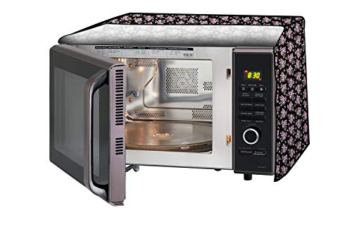 Stylista Microwave Oven Cover for IFB 38 L Convection 38SRC1 Floral Pattern Multicolor