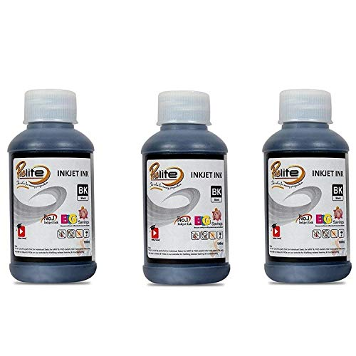 ProDot IP-HQ05-PK Inkjet Printer Refill Ink for HP and Samsung (Black, Pack of 3)