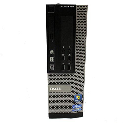 (Renewed) Dell Optiplex 790 Desktop (Intel Core i3 2100 3.1 Ghz, 4 GB RAM/ 500 GB HDD/ Windows 10, MS Office/Intel Q65 Express Chipset/DVD R/W, USB, Ethernet,VGA,Audio), Black