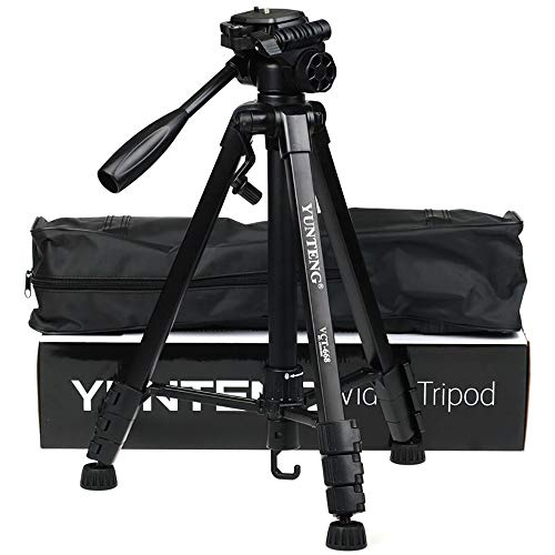 NEOHOOK YUNTENG 668 (Unfolded 152mm) Portable Professional Camera Tripod Universal Tripod for Camera Mobile Phone Tablet