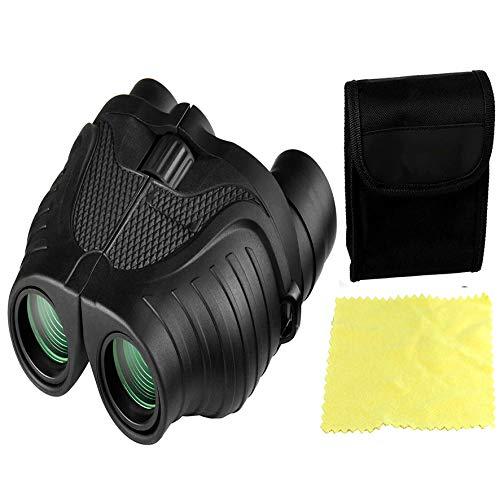 Rockfieln Long Distance Portable Binoculars Binocular for Long Distance with Pouch,Foldable Binocular Zoom 10x25 Monocular Telescope Zoom Binoculars Telescope