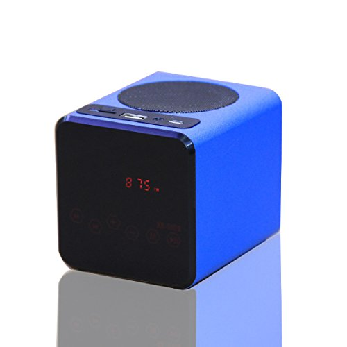 Generic Kr-5100 Portable Touch Led Media Player Speaker For Mobile Phone