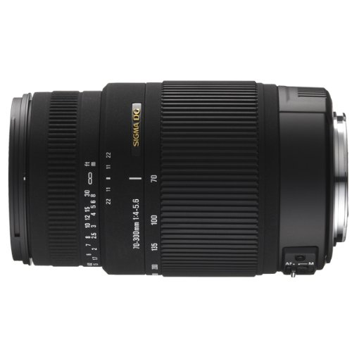 Sigma 70-300mm F/4-5.6 DG OS Telephoto Zoom Lens for Pentax DSLR Camera