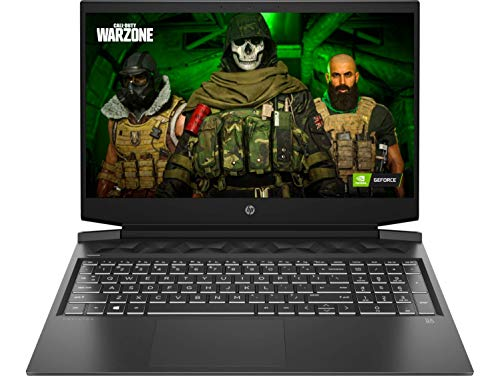 HP Pavilion Gaming 10th Gen Intel Core i5 Processor 16.1-inch FHD Gaming Laptop (8GB/1TB HDD + 256GB SSD/Windows 10/MS Office/NVIDIA GTX 1650 4GB/Shadow Black), 16-a0022TX