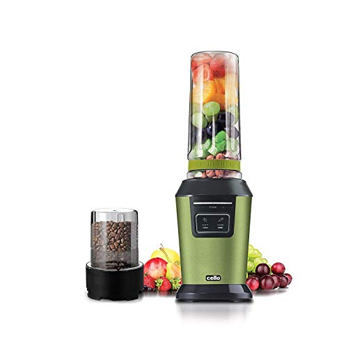Cello Blend N Grind Jucimatic 800-Watt Juicer (Green)