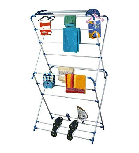 ORRIL ZOSHOMI Cloth Dryer Stand -Oyster- Very Easy to Assemble (Made in India)