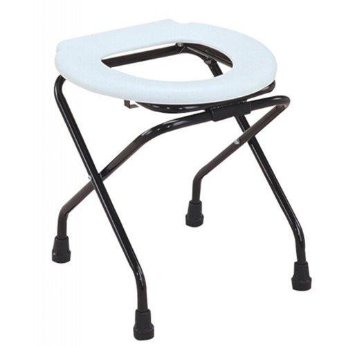 Elegant Mosquito Net Elegant Life Comfort Folding Round Commode Stool/Chair