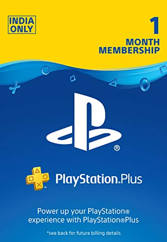 Sony PlayStation Plus: 1 Month Membership Card (Email Delivery in 1 hour- Digital Voucher Code)