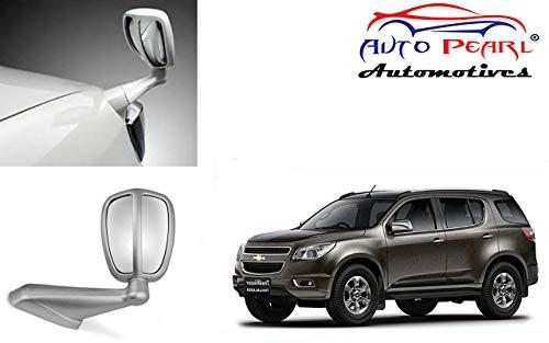 Auto Pearl Front Fender Wide Angle Mirror Bonnet Mirror (Silver) for - Trailblazer
