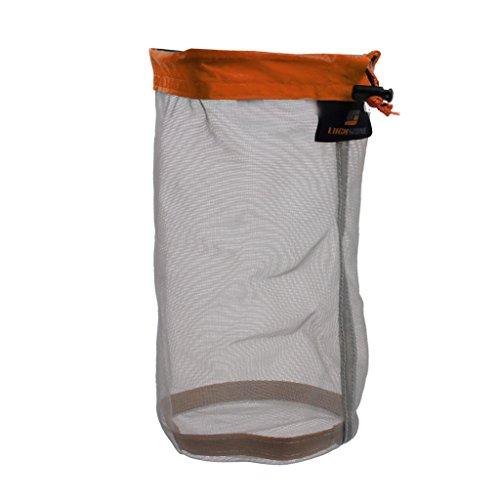 Generic Ultra Light Mesh Stuff Sack Storage Bag for Tavel Camping Size M