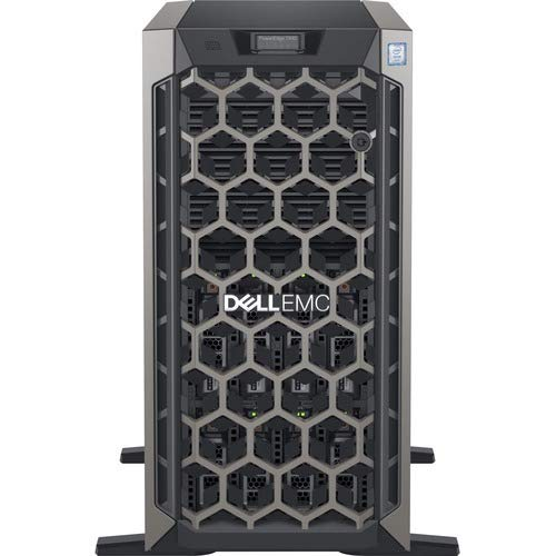 Dell PowerEdge T440 Server, Intel Xeon 4210 (2nd Gen, 10Core) Processor with 32GB RAM & 3 x 1.2TB 10K RPM SAS Hard Disk, 3 Years Warranty by Dell.