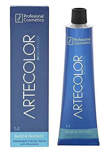Professional Cosmetics Artecolor Hair Colour Cream, 6. 67 Dark Red Violet Blonde, 120 g