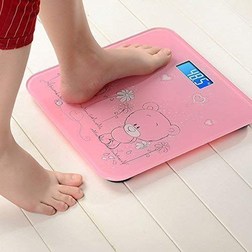 HaRvic Personal Bathroom Human Body Weight Machine Digital Weighing Kids Scale Multi Colour, Multidesign