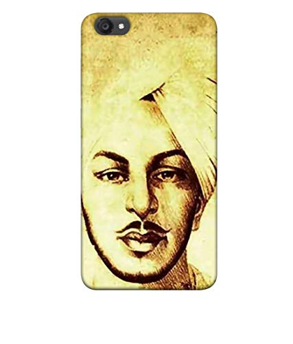 S SMARTY Bhagat Singh Printed Hard Case Mobile Back Cover for Vivo Y55L :: Y55s