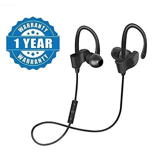 ASMIU QC10 Wireless Bluetooth Headphones/Headset with Mic and Volume Button for Mi Note 5 Pro, TS Mi Note 5 Pro, Redmi 6 Pro, Redmi 6A, Redmi Y2, Mi A2, Redmi 5, Redmi 4, Mi A1, Y2, Y3 Mi Note 7 Pro