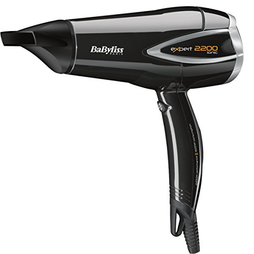 Babyliss D341E EXPERT 2200W Hair Dryer, (Black)