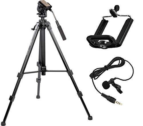 Simpex VCT 888 Tripod with Mobile Holder
