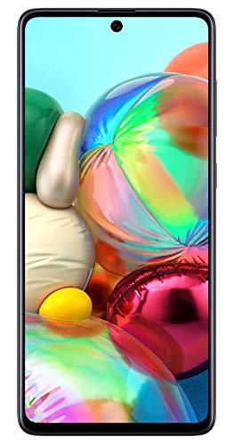 Samsung Galaxy A71 (Black, 8GB RAM, 128GB Storage) Without Offer
