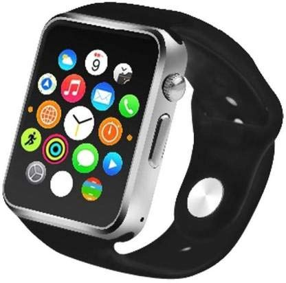TrendBerry A1 Bluetooth for Android, iOS & Smart Phone Smart Watch for Men and Women (Silver)