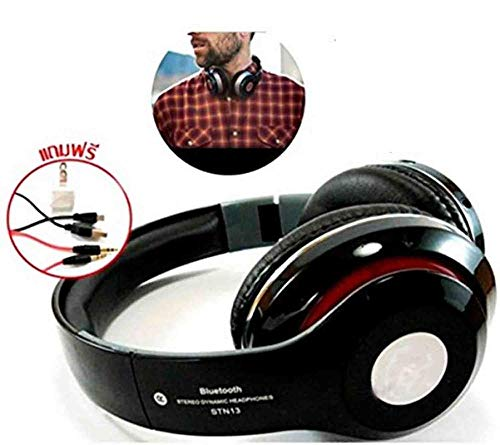 RIYA Products Wireless On-Ear Headphones Support SD Card/Mic/Fm Model 75200