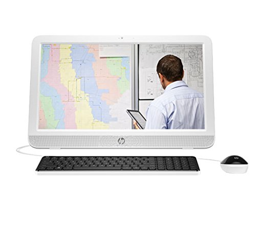 HP 20-E025IL 19.45-inch All-in-One Desktop (Celeron N3050/2GB/500GB/DOS/Integrated Graphics)