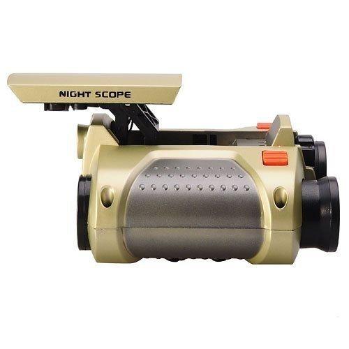 olipiz Enterprise Binoculars for Kids Children Night Vision Device 4x30 Binoculars Night Scope with Pop-up Spotlight and Night-Beam Vision Focusing Telescope
