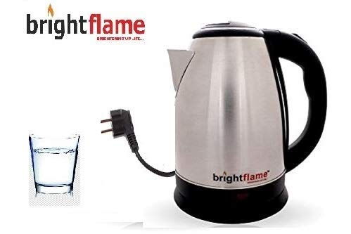 Brightflame New Multipurpose Auto-Swich Electronic Kettle 1.8 LTR (Dimensions: 23Cm X 16.5Cm X 20.5Cm)