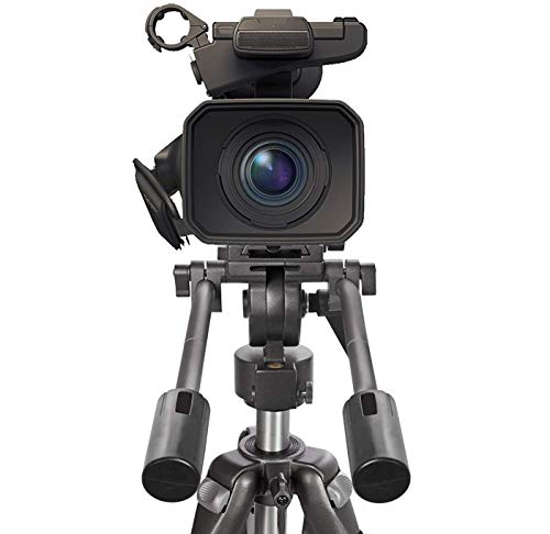 "Digital Nc Professional Dual Handle Aluminum 67"" Tripod (Bubble Level) for Sony E 55-210mm f/4.5-6.3 OSS"