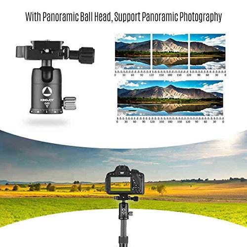 ELECTROPRIME Kingjoy G22C+G00 Portable Travel Camera Tripod Monopod with 360 Degree Ball K7C5