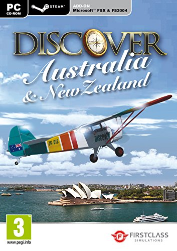 First Class Simulations Discover Australia and New Zealand Add on for Flight Stimulator X - Steam Edition