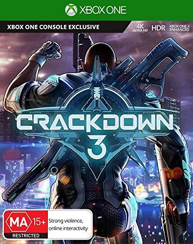 CRACKDOWN 3 XBOX ONE MICROSOFT