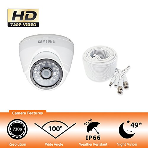 Samsung SDC-8442DC 720p HD Weather Resistant Dome Camera