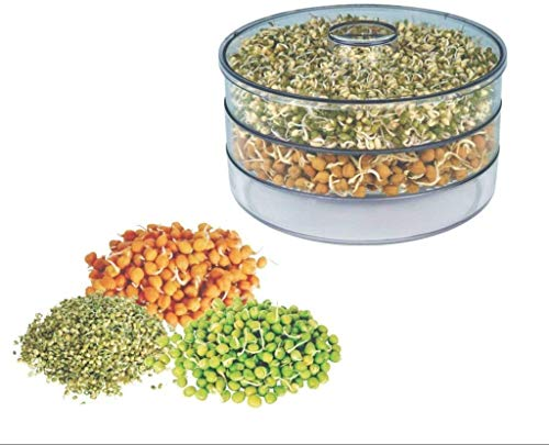 Orange Enterprise India Sprout Maker with 3 Compartment