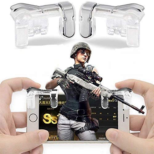 SEASHELL PUBG Gaming Joystick for Mobile Metal Trigger ● CANSOLE Controller Button L1 R1 Joystick
