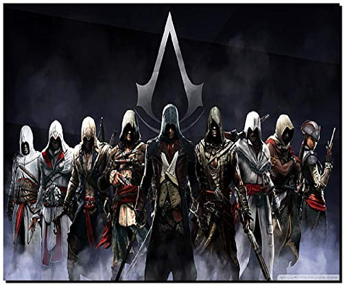 SKY DOT Assassin s Creed Video Games altair IBN la Ahad Ezio Auditore da Firenze Multicolor Mousepad