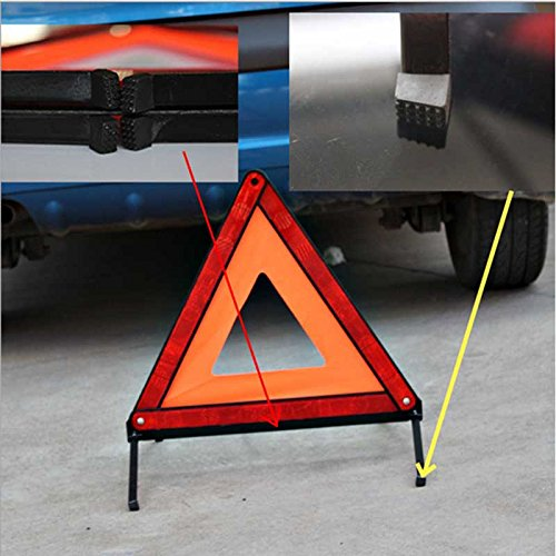 Generic Best Auto Warning Triangles Car Warning Tripod Stand Foldable Reflective Material Warning Triangles Roadway Safety Product
